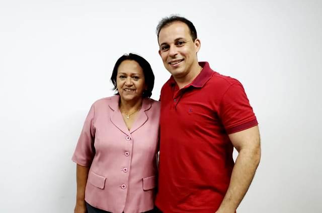 Blog Ivanildo Souza: Ex-prefeito de Canguaretama com Fátima Bezerra
