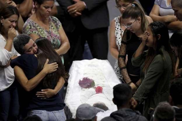 Imagens Do Massacre Em Suzano Facebook: VÍTIMAS DE MASSACRE TÊM VELÓRIO COLETIVO EM SUZANO; 3 MIL