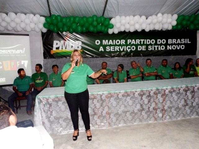 Resultado de imagem para ex-prefeita de Sítio Novo Wanira de Holanda Brasil