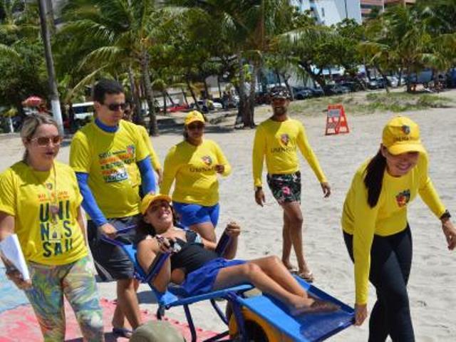 Resultado de imagem para Natal Praia Inclusiva inicia atividades na Praia da Redinha