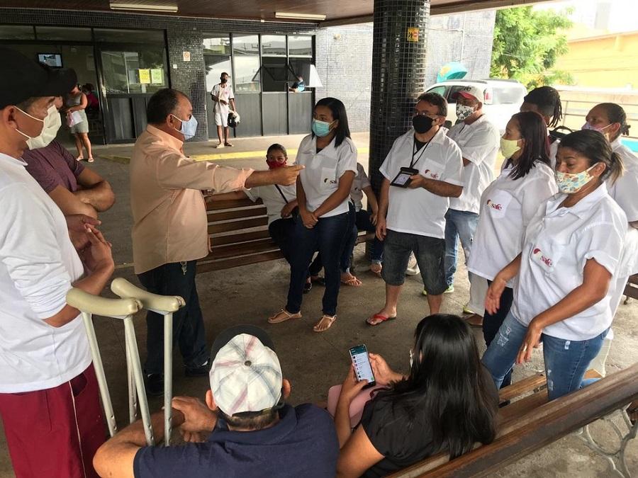 RN: COM SALÁRIOS ATRASADOS, MAQUEIROS FAZEM PARALISAÇÃO NO HOSPITAL WALFREDO  GURGEL - Blog de Daltro Emerenciano